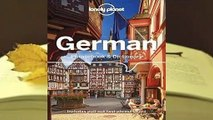 [GIFT IDEAS] Lonely Planet German Phrasebook  Dictionary