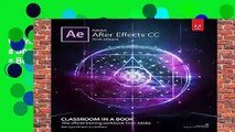 Online Adobe After Effects CC Classroom in a Book (2018 release) (Classroom in a Book (Adobe))