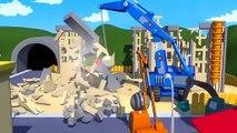 Carl le Camion Transformer et le Camion de démolition à Car City| Dessin animé pour enfants