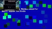 Full E-book  Equus  Review About For Books  Equus  For Kindle