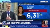"""Le RN en tête aux européennes: Quatennens (LFI) y voit """"un échec du pouvoir"""""""