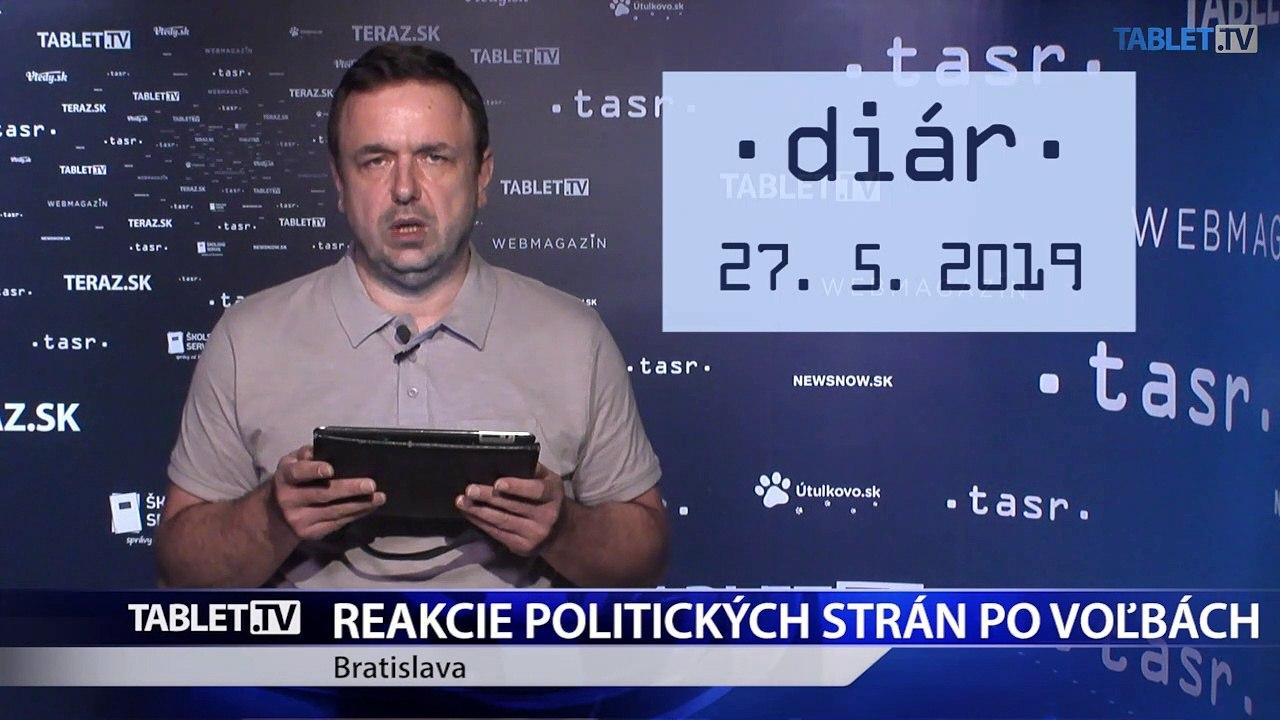 DIÁR: Eurovoľby na Slovensku vyhrala koalícia PS-SPOLU