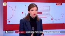 « Nous avons réussi à contenir l'extrême droite », se félicite Aurore Bergé