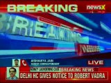 Money Laundering Case: Delhi High Court gives notice to Robert Vadra