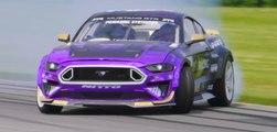 VÍDEO: este Ford Mustang RTR Spec 5-D hace un drift a casi 250 km/h