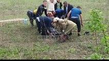 Makina del nga rruga në Bilaj të Fushë - Krujës, 2 të plagosur transportohen drejt spitalit