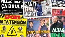 L'Angleterre s'inquiète pour la blessure de Kanté, le Betis Séville lorgne un grand entraineur français