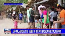 Ang mala-Boracay na ganda ng Buktot Beach sa Oriental Mindoro