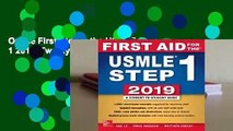Online First Aid for the USMLE Step 1 2019, Twenty-Ninth Edition  For Kindle