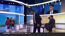 Anne-Sophie Lapix et Laurent Delahousse plantés par le porte-parole du Rassemblement national en plein débat sur France 2