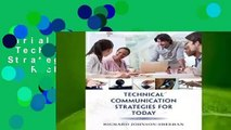 Trial New Releases  Technical Communication Strategies for Today by Richard Johnson-Sheehan