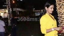 Paltan Actress Sonal Chauhan Spotted at Yauatcha