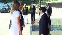 ترامب أول زعيم أجنبي يلتقي امبراطور اليابان الجديد ناروهيتو