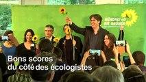 Européennes: progression des eurosceptiques, poussée écologiste
