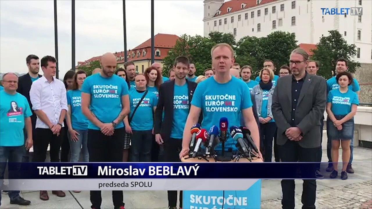 ZÁZNAM: TK koalície Progresívne Slovensko a SPOLU - občianskej demokracie