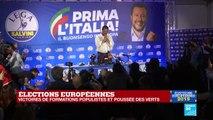Élections européennes : les partis eurosceptiques font la course en tête