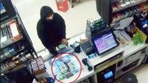 Un braqueur se ravise devant un employé armé d'un pistolet