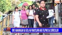 KWF, nanawagan sa SUCs na panatilihin ang Filipino sa curriculum