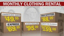 What's behind the boom in clothing rental services?