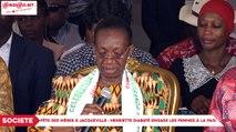 Fête des mères à Jacqueville : Henriette Diabaté engage les femmes à la Paix