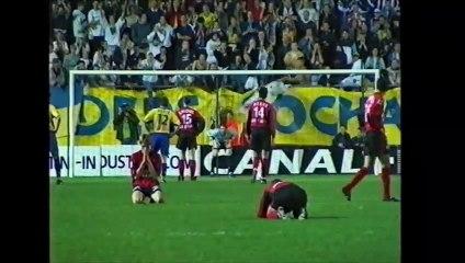 D2  Les accessions en Ligue 1: 1995, 2000 et 2013