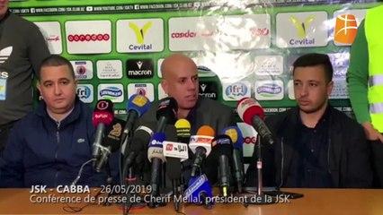 """Mellal : """"Le CSC nous réclamé 2,5 milliards pour vendre le match"""""""