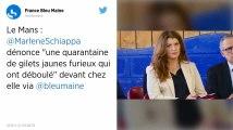 Au Mans, le domicile de Marlène Schiappa attaqué par des Gilets jaunes