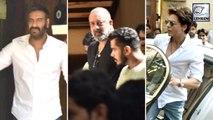 Shah Rukh, Sanjay Dutt और  Sunny Deol हुए  Veeru Devgn के  अंतिम  संस्कार में  शामिल