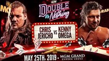 Chris Jericho vs Kenny Omega AEW Double Or Nothing Highlights