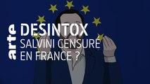 Matteo Salvini censuré en France ? - 27/05/2019 - Désintox