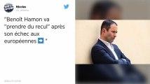 Nettement battu aux européennes, Benoît Hamon disparaît des écrans