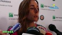 Roland-Garros 2019 - Alizé Cornet éliminée et espère maintenant pouvoir voir jouer Diane Parry