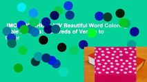 [MOST WISHED]  NIV Beautiful Word Coloring Bible for Girls: Hundreds of Verses to Color