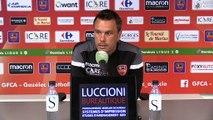 Barrages : le point presse du coach H. Della Maggiore avant Le Mans FC / Gazélec Ajaccio