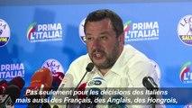 """Pour Salvini, """"les règles de l'Europe vont changer"""""""