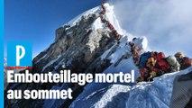 Népal : embouteillage dans la « zone de la mort » de l'Everest
