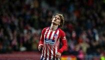 أتلتيكو مدريد يستغل غريزمان للانقضاض على ظهير برشلونة
