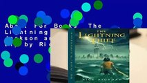 About For Books  The Lightning Thief (Percy Jackson and the Olympians, #1) by Rick Riordan