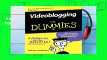 Videoblogging For Dummies  For Kindle