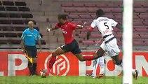 2010-2011    16e de finale de coupe de la Ligue   EAG-RENNES 3-1