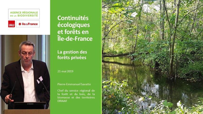 """12 - Pierre-Emmanuel SAVATTE  - Rencontre technique """"Continuités écologiques et forêts"""" 2019"""