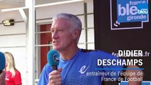 La réaction du bayonnais de naissance Didier Deschamps après la remontée en Top 14 de  l'Aviron Bayonnais