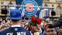 La Chorale de Roanne fête sa montée dans l'élite du basket Français