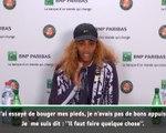 Roland-Garros - S. Williams : ''Toujours nerveuse en Grand Chelem''