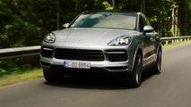 Porsche Cayenne S Coupé in Dolomite silver Driving Video
