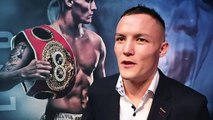 'F****** EMBARASSING' -JOSH WARRINGTON ON GALAHAD, RIPS INGLE, DRUG BAN, FRAMPTON, SANTA CRUZ/VALDEZ