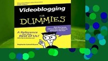 About For Books  Videoblogging For Dummies Complete