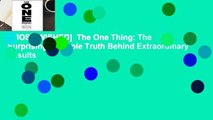 [MOST WISHED]  The One Thing: The Surprisingly Simple Truth Behind Extraordinary Results