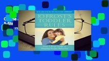 Online Jo Frost's Toddler Rules: Your 5-Step Guide to Shaping Proper Behavior  For Trial