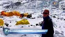 El alpinista mexicano Jorge Salazar se encuentra en el Everest y esto dijo. | Azteca Deportes